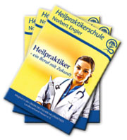 Broschüre Heilpraktikerschule